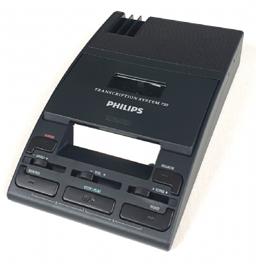 Philips LFH720 Desktop Mini Cassette Transcription Machine Reconditioned (Machine Only)